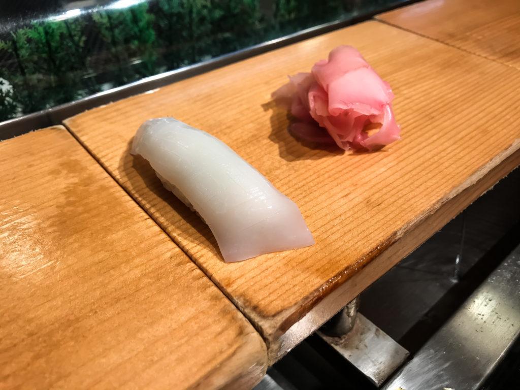 横浜寿司さがみやでいか