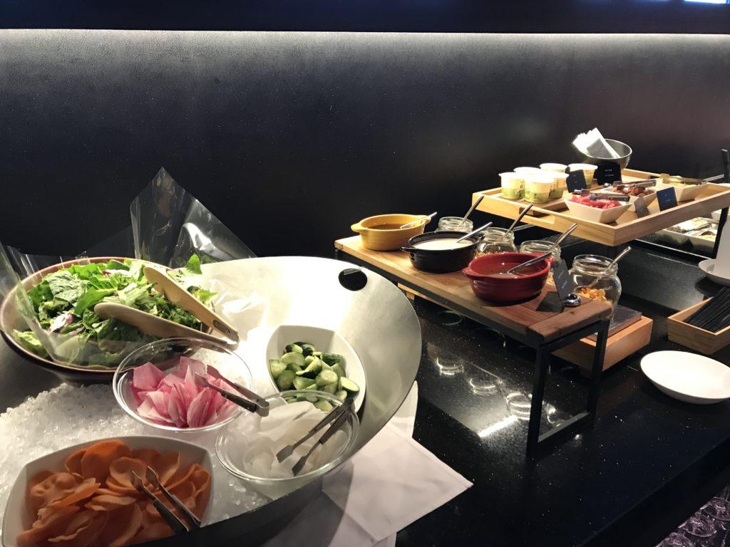 コンラッド大阪の朝食:メニュー