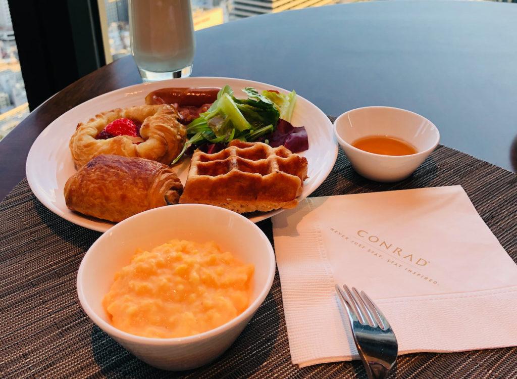 コンラッド大阪の美味しい朝ごはん