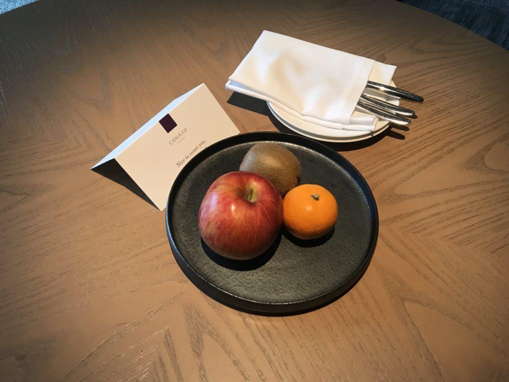 コンラッド大阪の果物