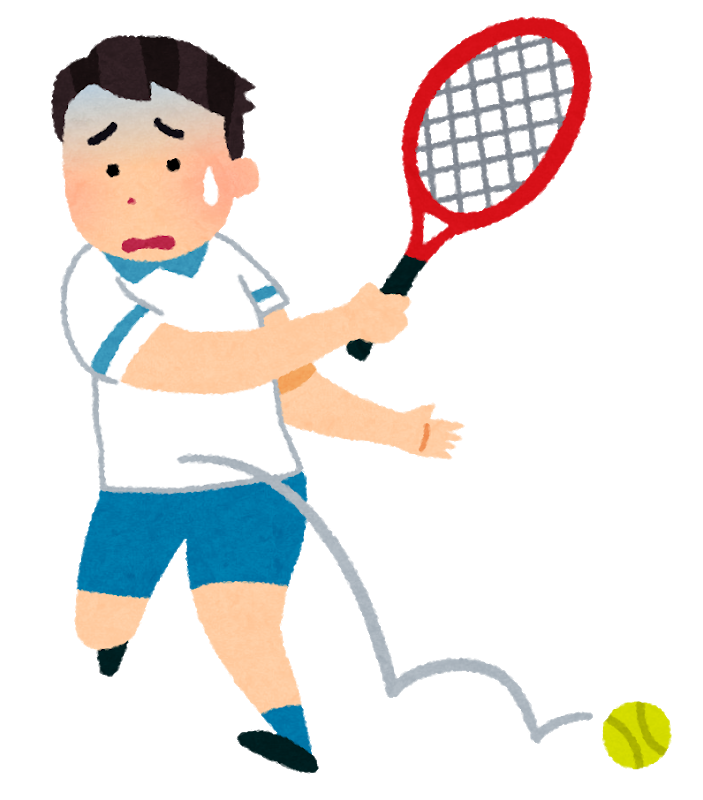 敗者のゲーム:アマチュアのテニスプレーヤー