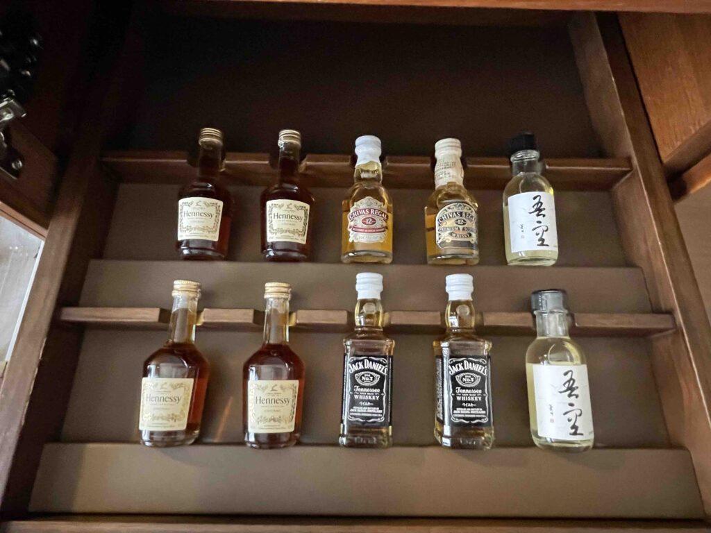 ホテル日航福岡の有料のお酒