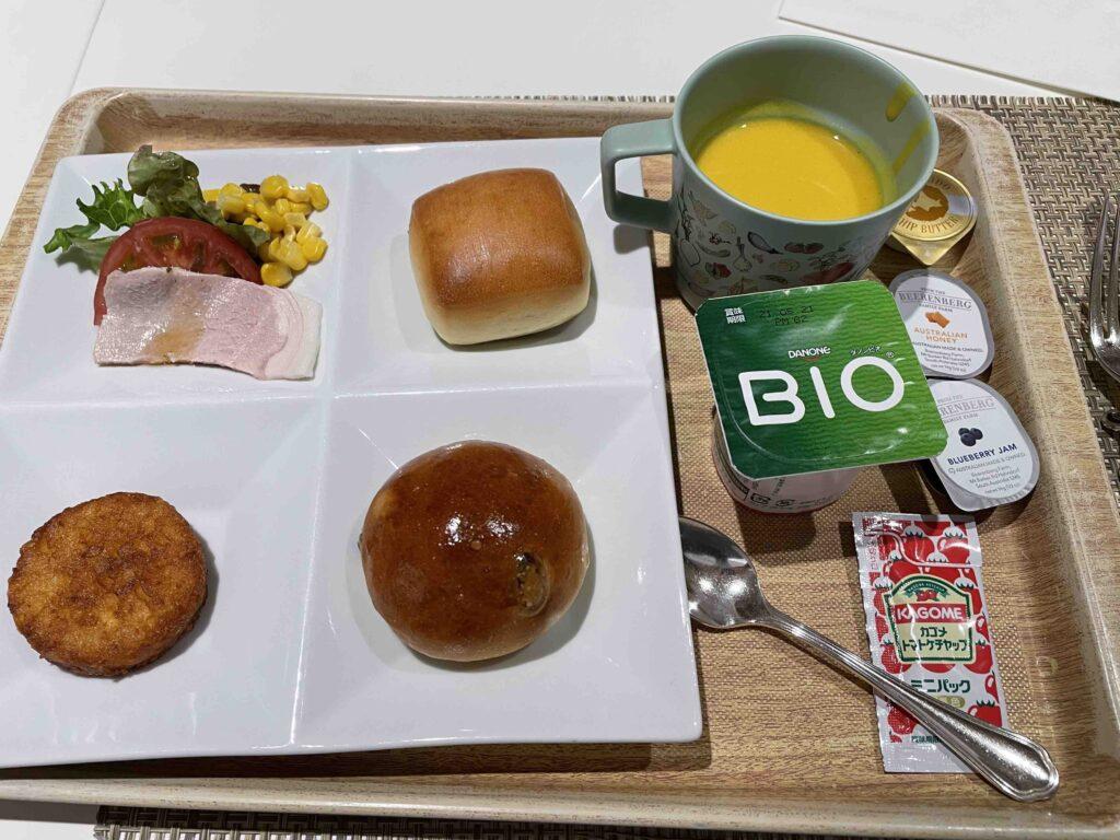ホテル日航福岡の朝食