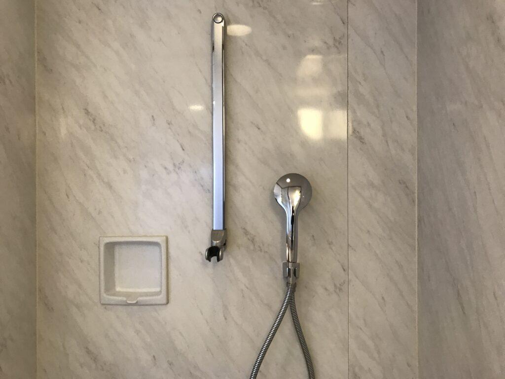 シェラトングランデ宮崎のシャワールーム