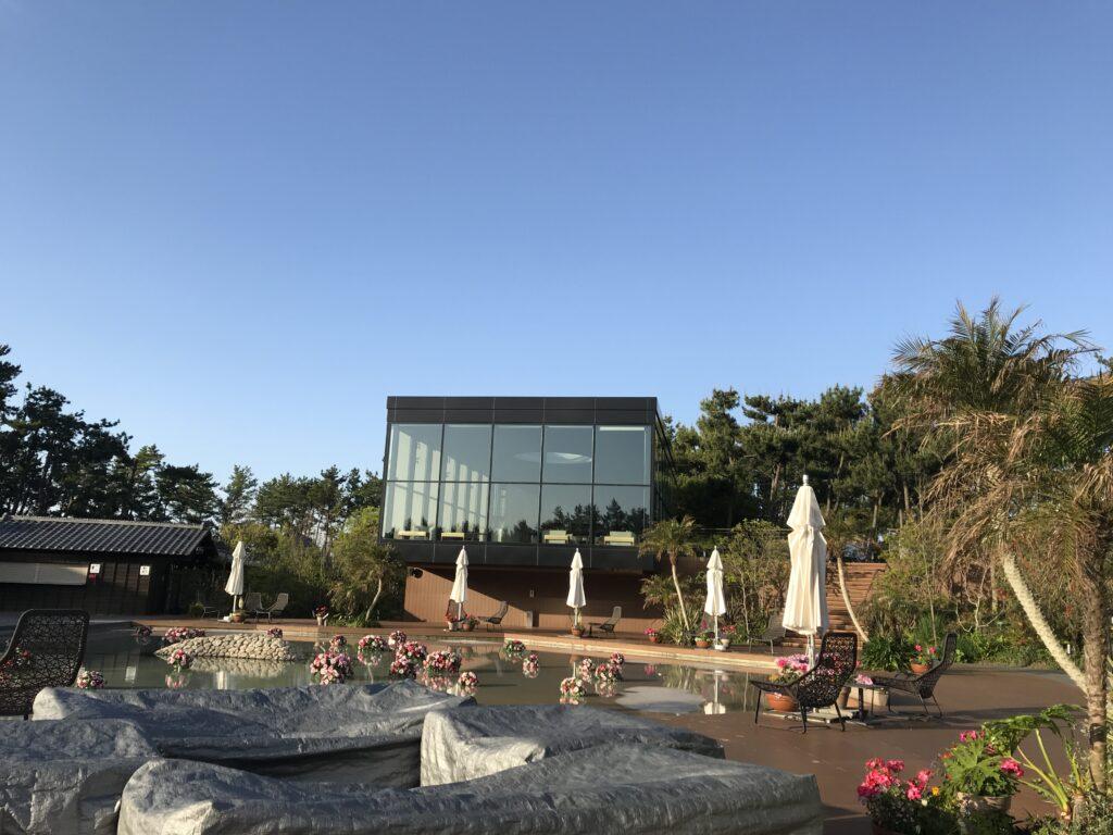 シェラトン宮崎のリビングガーデン
