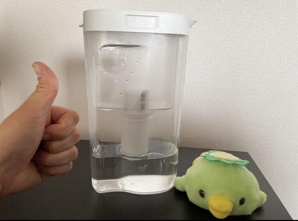無印良品の浄水ポットは素晴らしい